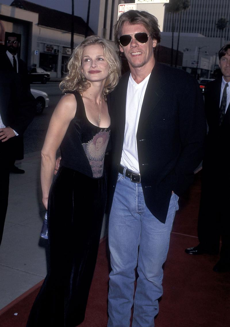 "The couple at the ""Apollo 13"" premiere at the Academy Theatre in Beverly Hills, California."