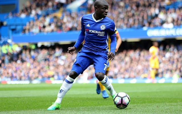<span>N'Golo Kante is a nominee for PFA Player of the Year</span> <span>Credit: Rex Features </span>