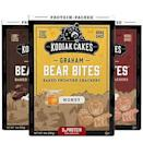"""<p><strong>Kodiak Cakes</strong></p><p>amazon.com</p><p><strong>$19.00</strong></p><p><a href=""""https://www.amazon.com/dp/B07ZDVXYMJ?tag=syn-yahoo-20&ascsubtag=%5Bartid%7C1782.g.4497%5Bsrc%7Cyahoo-us"""" rel=""""nofollow noopener"""" target=""""_blank"""" data-ylk=""""slk:BUY NOW"""" class=""""link rapid-noclick-resp"""">BUY NOW</a></p><p>For those with a sweet tooth, these little bear snacks will help keep your protein up. </p>"""