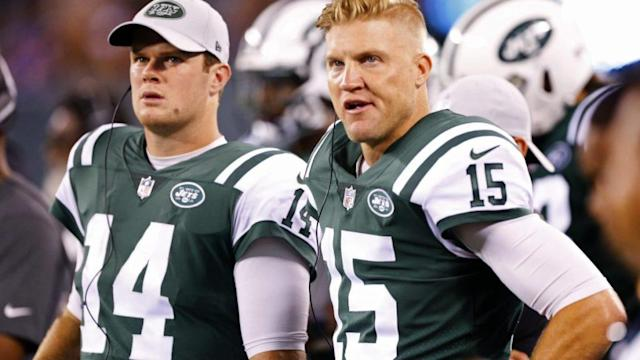 Josh McCown will leave a lasting mark on Jets thanks to Sam Darnold