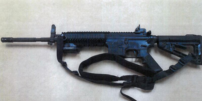 Security at Calif. dist. has high-powered rifles