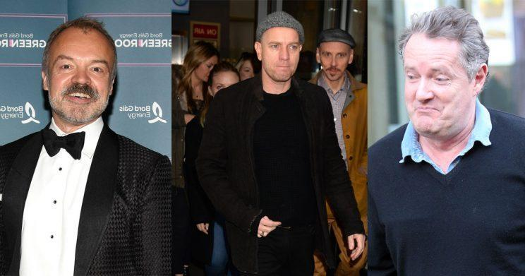 Graham Norton told Piers Morgan to grow up after his spat with Ewan McGregor (Photo: WENN)