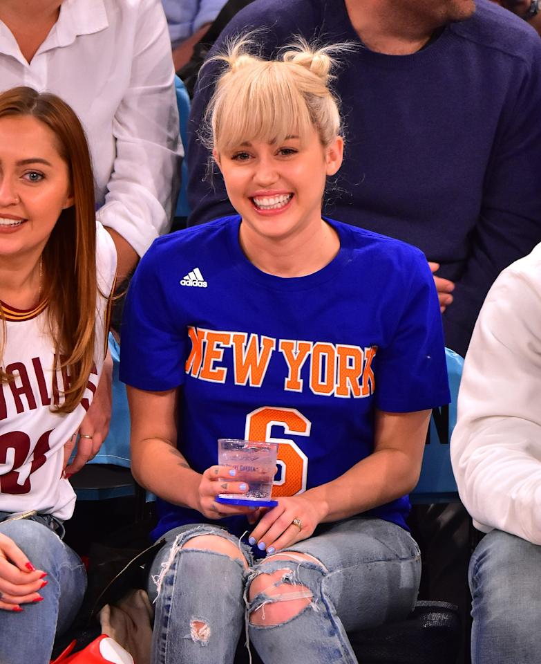 """<p>Things get pretty quiet after the engagement officially resumes. Miley <a href=""""https://www.popsugar.com/celebrity/Miley-Cyrus-Family-Basketball-Game-March-2016-40712388"""" class=""""ga-track"""" data-ga-category=""""Related"""" data-ga-label=""""http://www.popsugar.com/celebrity/Miley-Cyrus-Family-Basketball-Game-March-2016-40712388"""" data-ga-action=""""In-Line Links"""">goes to a basketball game with her sister</a>, though, and she's still wearing Liam's ring. Deep breaths, everyone.</p>"""