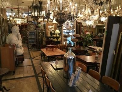 Salvage shops such as Olde Good Things offer a wide variety of decorative accessories.