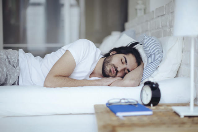Sleeping on your side is a position favoured by 15% of adults (Getty Images)