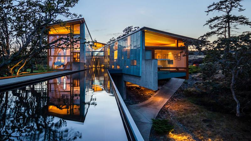 A River Runs Through It Homes Built Over Streams And Waterways