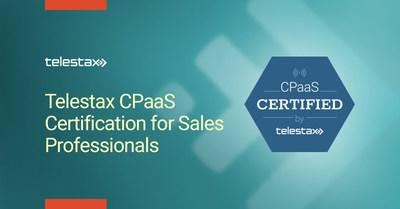 Telestax CPaaS Sales Certification