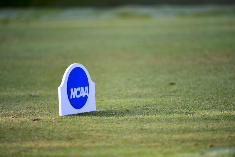 HOUSTON, TX - MAY 17: The Division III Women's Golf Championship held at the Bay Oaks Country Club on May 17, 2019 in Houston, Texas. (Photo by Justin Tafoya/NCAA Photos via Getty Images)