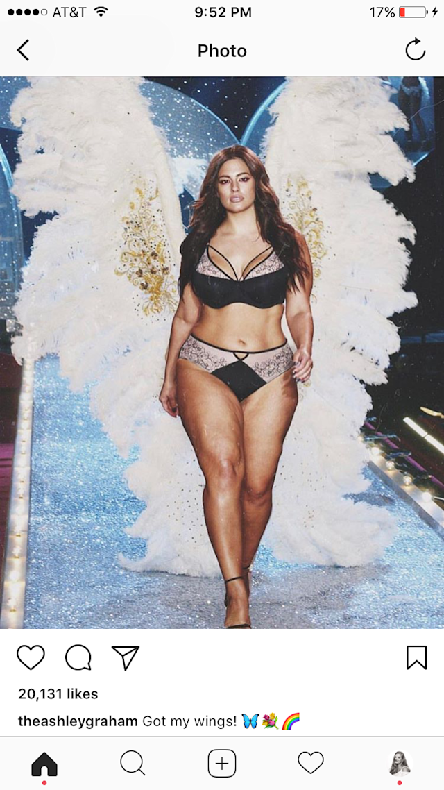 (Photo: @theashleygraham/Instagram)
