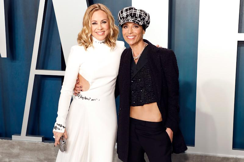 Maria Bello Reveals She's Engaged to Chef Girlfriend Dominique Crenn: 'I've Finally Grown Up'