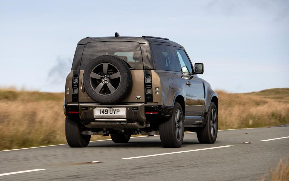 Land Rover Defender 90 - tested 22/10/20 - Nick Dimbleby
