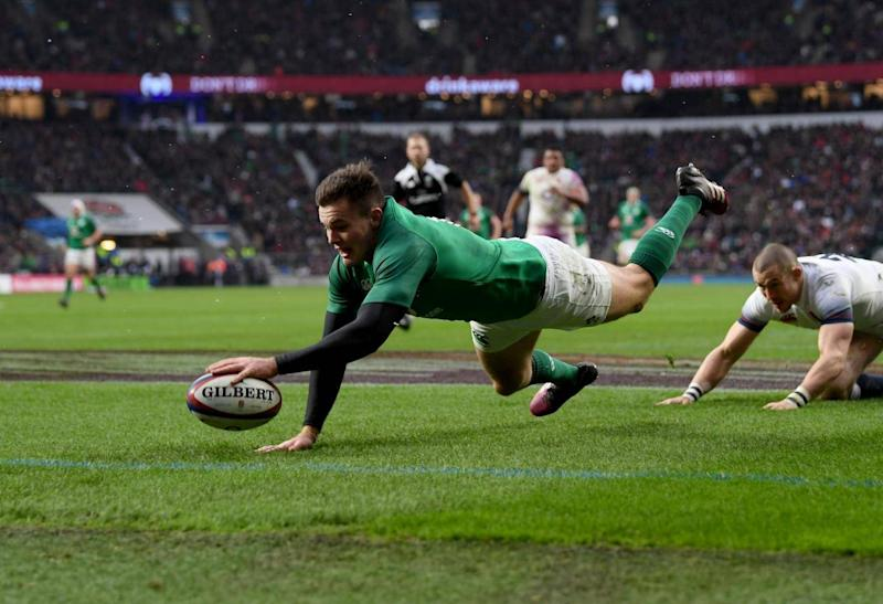 Ireland scored two first-half tries (Getty Images)