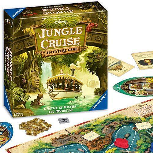 """<p><strong>Ravensburger</strong></p><p>amazon.com</p><p><strong>$34.99</strong></p><p><a href=""""https://www.amazon.com/dp/B08412VYKZ?tag=syn-yahoo-20&ascsubtag=%5Bartid%7C10070.g.34428616%5Bsrc%7Cyahoo-us"""" rel=""""nofollow noopener"""" target=""""_blank"""" data-ylk=""""slk:SHOP NOW"""" class=""""link rapid-noclick-resp"""">SHOP NOW</a></p><p>Bring the magic of Disney rides right into your home with the help of the Jungle Cruise Adventure Game. Young ones will love embarking on the mystical voyage the board game takes you on along the perilous river in order to deliver your precious cargo before your opponents do. <em>Ages 8+</em></p>"""