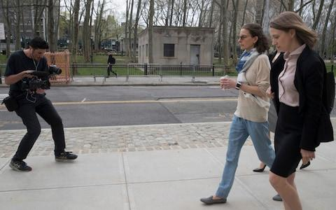 Bronfman will be sentenced in July - Credit: AP Photo/Mary Altaffer