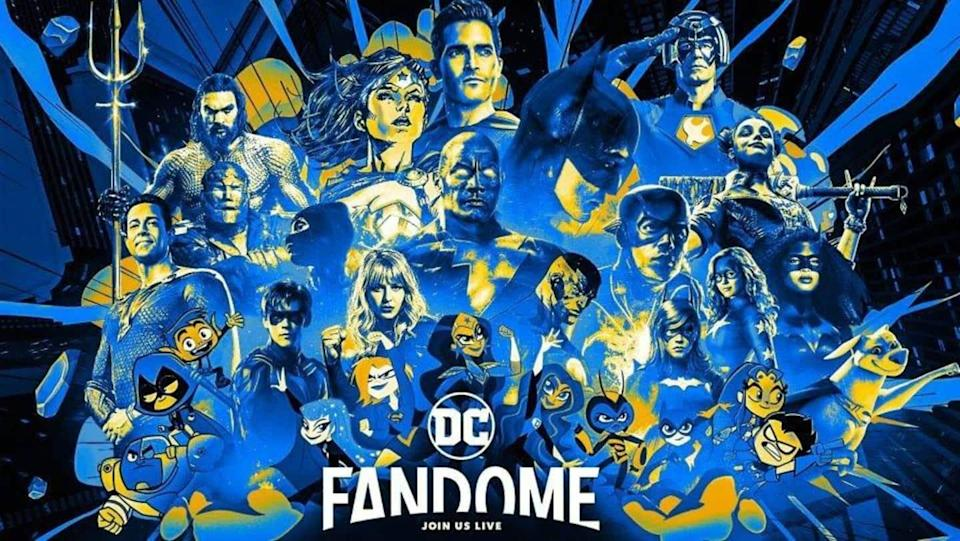 Know how you can participate in DC FanDome 2021