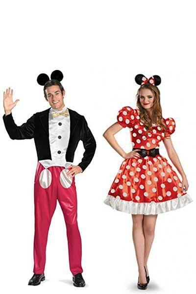"""<p>You can't get more classically Disney than the mouse himself. If you have some Mickey and Minnie ears on hand, this costume is super simple to recreate.</p><p><a class=""""link rapid-noclick-resp"""" href=""""https://www.amazon.com/Disney-Disguise-Mickey-Costume-X-Large/dp/B00BH0NWY8/ref=sr_1_3?keywords=mickey+mouse+costume+men&qid=1566401099&s=gateway&sr=8-3&tag=syn-yahoo-20&ascsubtag=%5Bartid%7C10070.g.28691602%5Bsrc%7Cyahoo-us"""" rel=""""nofollow noopener"""" target=""""_blank"""" data-ylk=""""slk:SHOP MICKEY COSTUME"""">SHOP MICKEY COSTUME</a></p><p><a class=""""link rapid-noclick-resp"""" href=""""https://www.amazon.com/Disguise-Womens-Minnie-Classic-Costume/dp/B00CID8LEE/ref=sr_1_5?keywords=minnie+mouse+costume+women&qid=1566401135&s=gateway&sr=8-5&tag=syn-yahoo-20&ascsubtag=%5Bartid%7C10070.g.28691602%5Bsrc%7Cyahoo-us"""" rel=""""nofollow noopener"""" target=""""_blank"""" data-ylk=""""slk:SHOP MINNIE COSTUME"""">SHOP MINNIE COSTUME</a> </p>"""