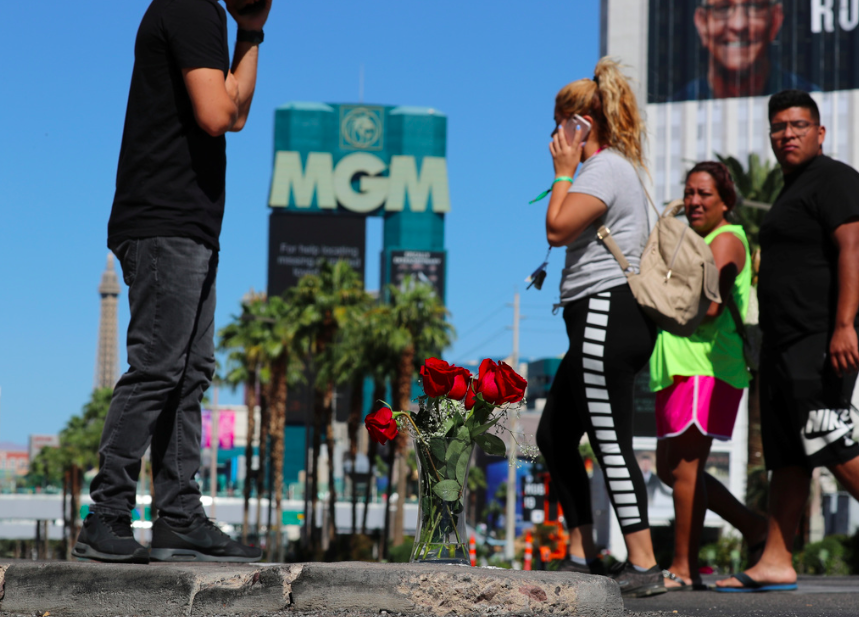 <p>Residents are still reeling from the shooting. (Reuters) </p>