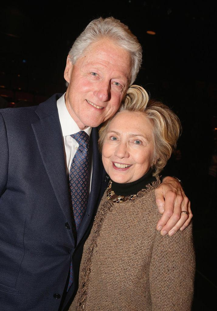Hillary stepped out with her husband Bill recently [Photo: Getty]