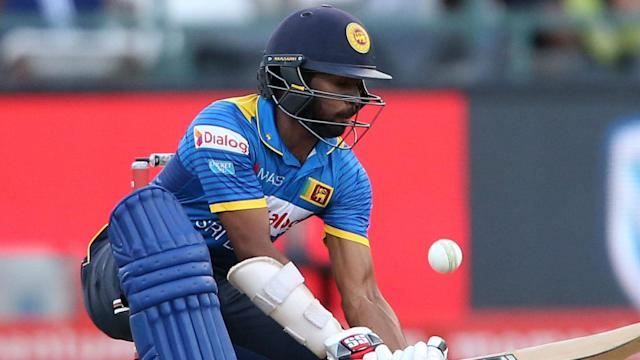 He missed the first ODI through suspension and now injury means Niroshan Dickwella is out of the series between Sri Lanka and Bangladesh.