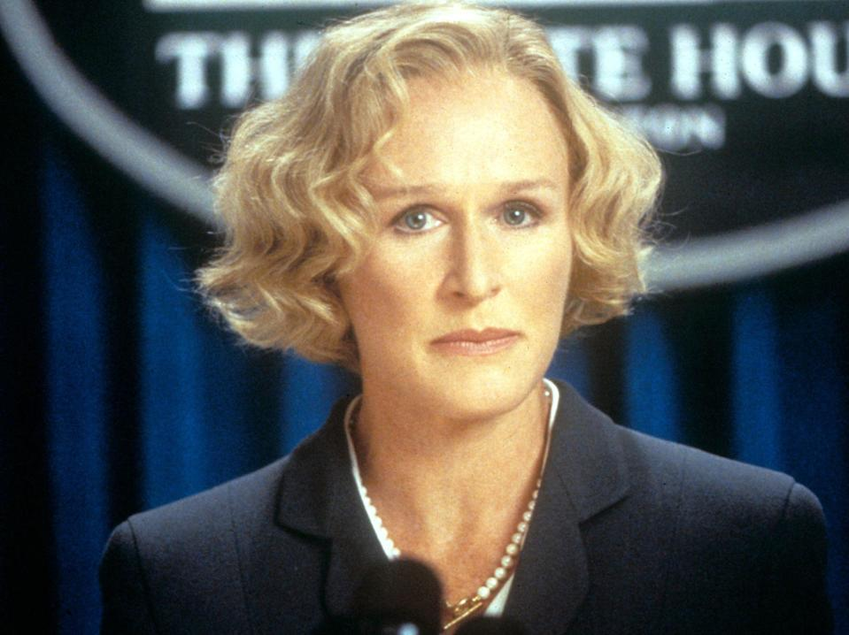 Glenn Close in Air Force One (Rex Features)