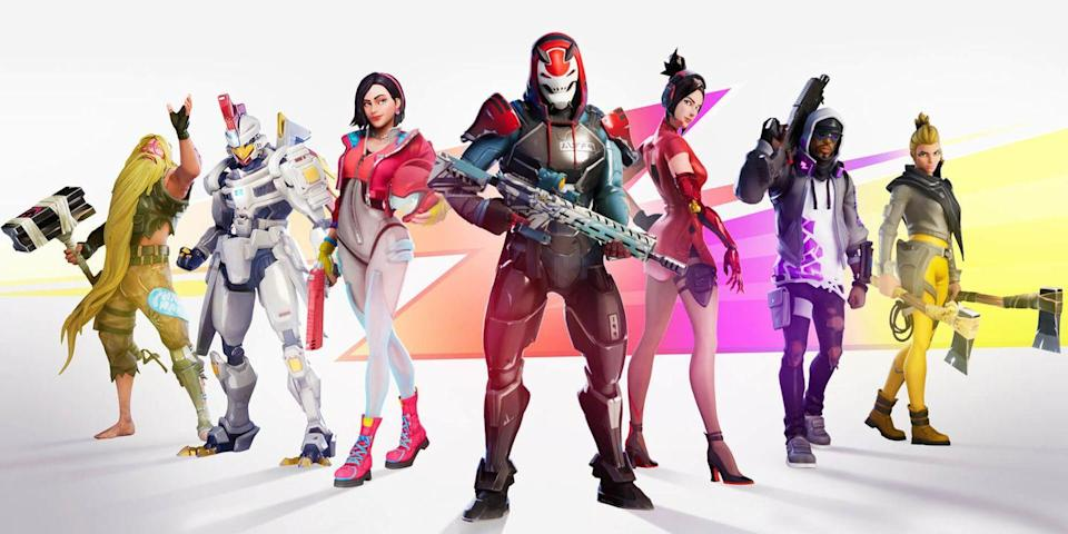 <p>When the whole squad shows up in their <em>Fortnite</em> skin, you'll feel like you're in a real-life Battle Royale. You can go as a Skull Trooper, a Brite Bomber, a Dark Voyager, a Cuddle Team Leader, or a Black Knight.</p>