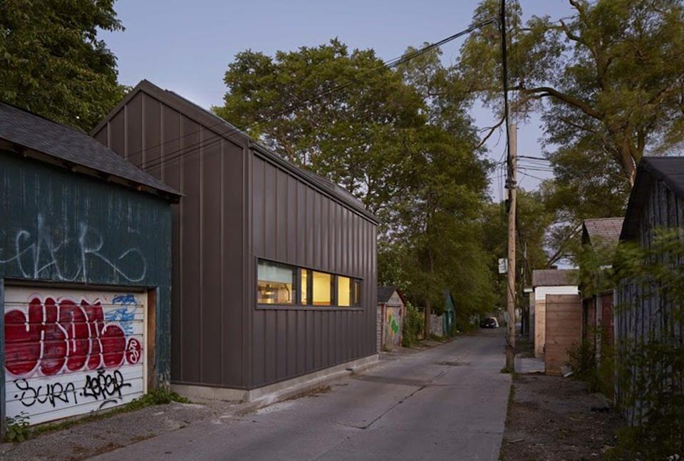 """<span class=""""caption"""">After an extensive renovation, an old house in a laneway in Toronto became a new two-bedroom home.</span> <span class=""""attribution""""><span class=""""source"""">(LGA Architectural Partners, Ben Rahn/A Frame)</span>, <span class=""""license"""">Author provided</span></span>"""