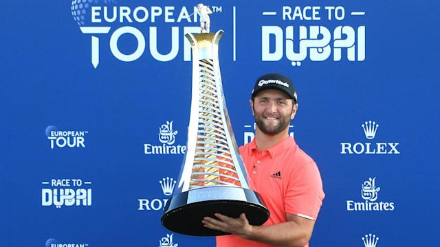 After following in Seve Ballesteros' footsteps by winning the Race to Dubai, Jon Rahm has replicated the Spanish great again.