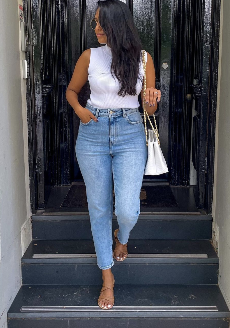Kmart jeans $20 high rise straight