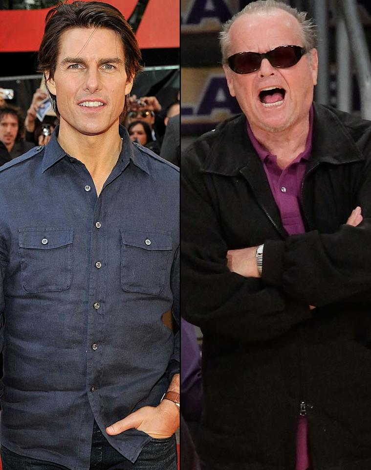"""Perez Hilton reports Jack Nicholson and Tom Cruise are reuniting onscreen for a movie called """"El Presidente"""" in which Cruise will star as a Secret Service agent assigned to protect an ex-president played by Nicholson. It was nearly 20 years ago that the two teamed up in """"A Few Good Men."""" To see if you can """"handle the truth"""" about this story, check out <a href=""""http://www.gossipcop.com/el-presidente-movie-tom-cruise-jack-nicholson/"""" target=""""new"""">Gossip Cop</a>. Steve Granitz/<a href=""""http://www.wireimage.com"""" target=""""new"""">WireImage.com</a>"""