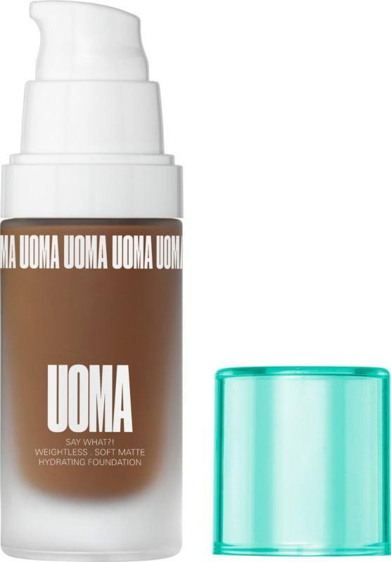 <p>Get that flawless airbrushed look with the <span>Uoma Beauty Say What?! Foundation</span> ($39). It comes in 51 shades that are formulated specifically for your skin tone. It's weightless and long-lasting with buildable coverage and a matte yet hydrating formula.</p>