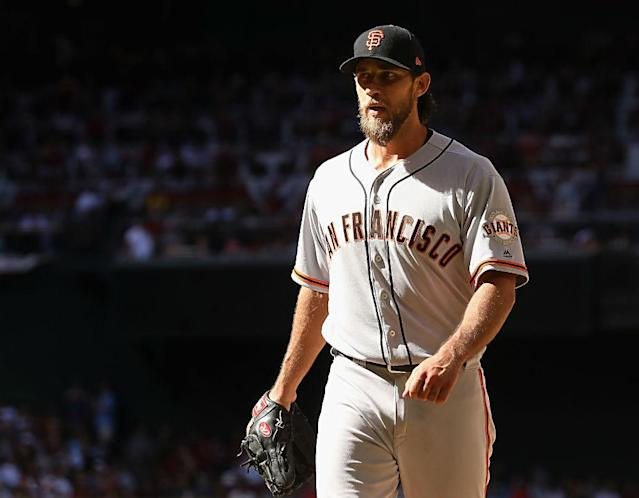 If Madison Bumgarner is going to be in another uniform on Opening Day 2019, here are five that could make sense.