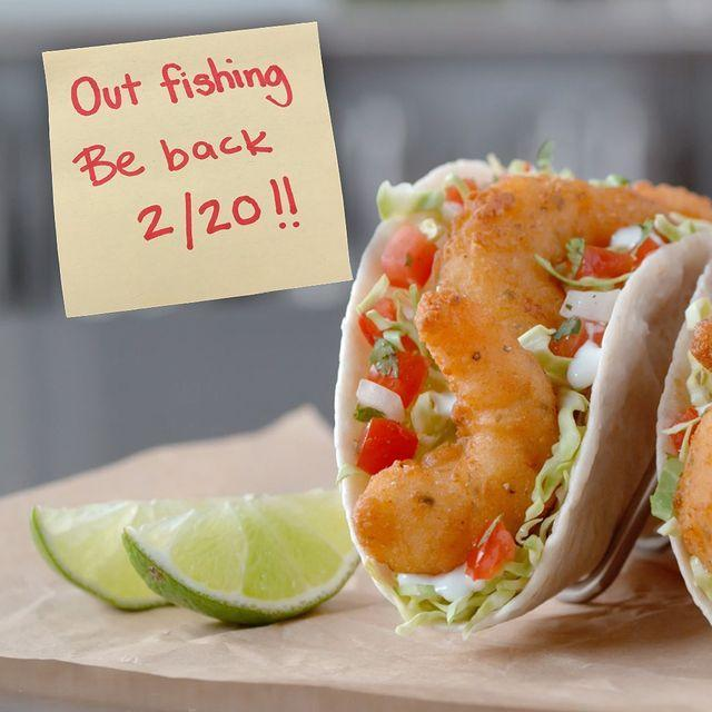 """<p>Del Taco brought back its jumbo shrimp tacos, and you can get two for just $5. </p><p><a href=""""https://www.instagram.com/p/B8jikVeg0YI/"""" rel=""""nofollow noopener"""" target=""""_blank"""" data-ylk=""""slk:See the original post on Instagram"""" class=""""link rapid-noclick-resp"""">See the original post on Instagram</a></p>"""