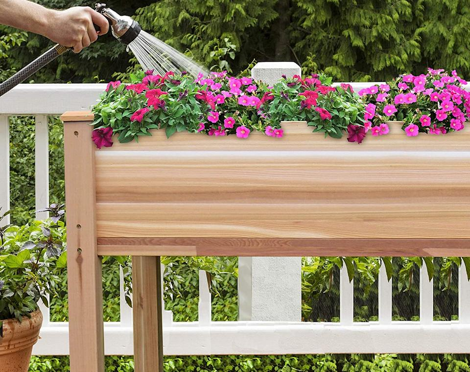 This garden bed is more than 25 percent off today! (Photo: Amazon)