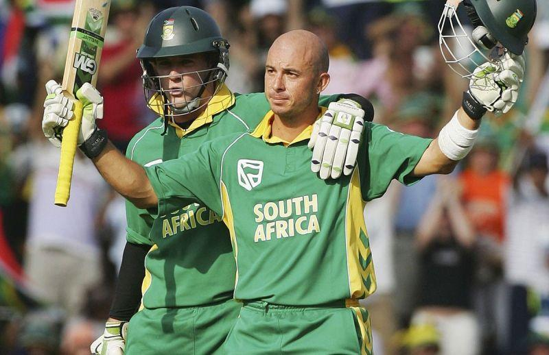 Herschelle Gibbs smashed his career-high score, 175 off just 111 balls