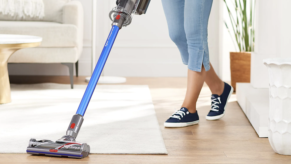 The V11 is high-tech and easy to use—in fact, you won't find a better cordless vac on the market.