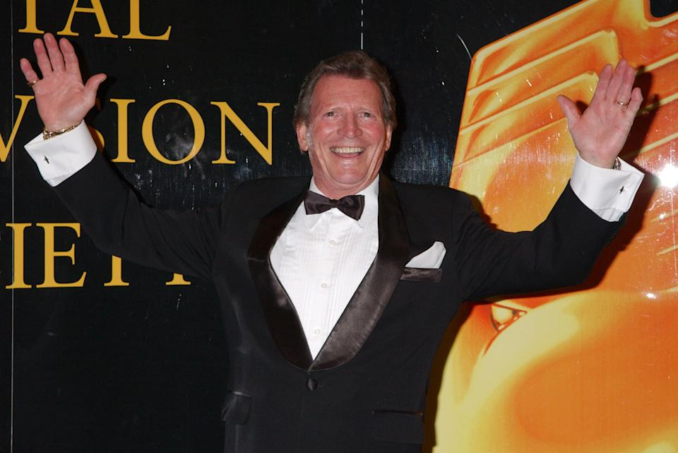 Johnny Briggs attends the Royal Television Society Awards. (Photo by Yui Mok/PA Images via Getty Images)