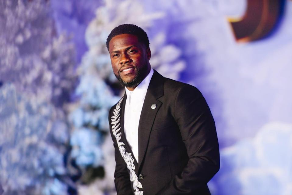 HOLLYWOOD, CALIFORNIA - DECEMBER 09: Kevin Hart attends the premiere of Sony Pictures'