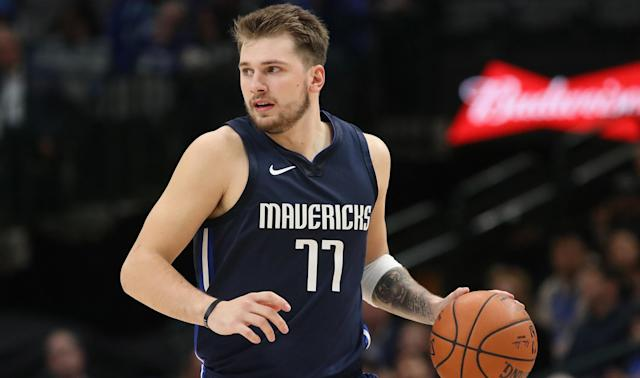 Dallas Mavericks star Luka Doncic became the second youngest player to record a 40-point triple-double.