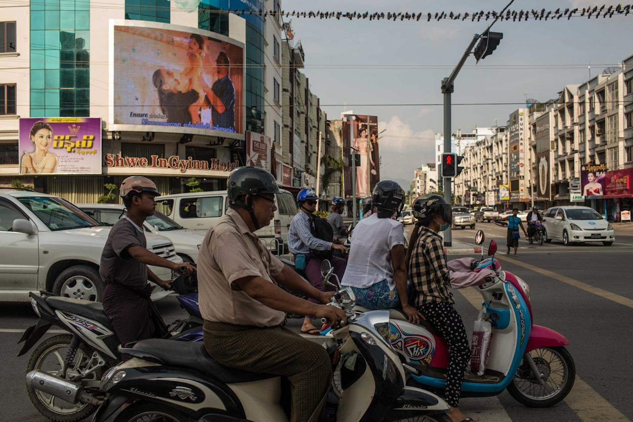 <p>No. 8 (tie): Myanmar<br />Projected GDP growth: 6.9 per cent<br />(Getty Images) </p>