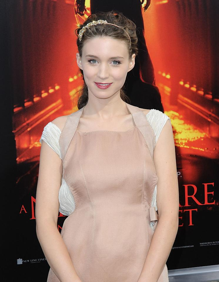 """The only American still in the running, <a href=""""http://movies.yahoo.com/movie/contributor/1809789186"""">Rooney Mara</a>, 25, has quite an advantage over the others in that Fincher has already worked with her: she co-stars in his upcoming movie about the creation of Facebook, """"<a href=""""http://movies.yahoo.com/movie/1810128131/info"""">The Social Network</a>."""""""