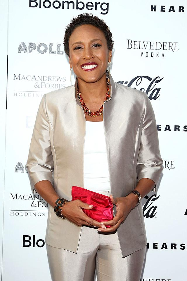 "In 2007, ""Good Morning America's"" Robin Roberts announced she had breast cancer. The anchor discovered the lump while doing a story about how early detection is key to surviving cancer. ""I'm very blessed and thankful that I found it early,"" said Roberts. Bryan Bedder/<a href=""http://www.gettyimages.com/"" target=""new"">GettyImages.com</a> - June 8, 2009"