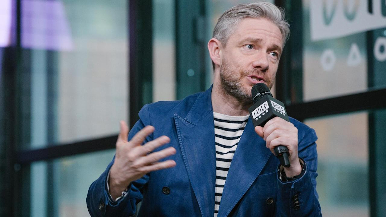 "Martin Freeman shares how impressed he was by the script of ""Ghost Stories"" and what makes him choose the projects he takes part in."