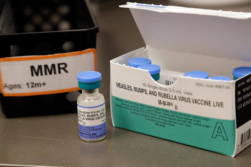 Health officials urge parents to ensure their children are vaccinated before sending them back to school with other kids.