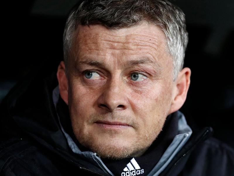 Manchester United manager Ole Gunnar Solskjaer: AFP via Getty Images