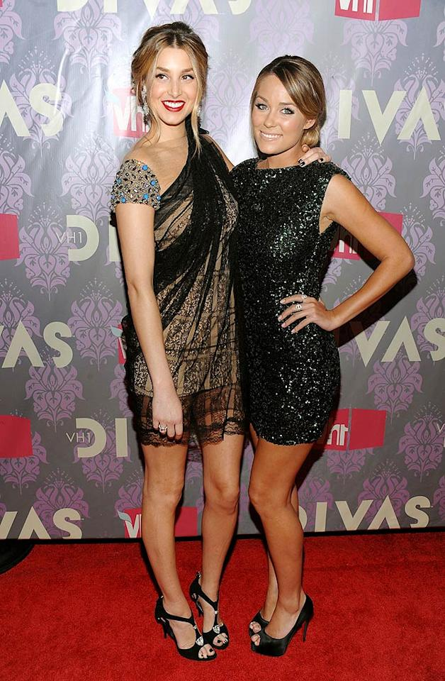 "BFFs Whitney Port and Lauren Conrad have come a long way from ""The Hills""! Dimitrios Kambouris/<a href=""http://www.wireimage.com"" target=""new"">WireImage.com</a> - September 17, 2009"