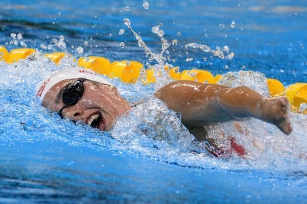 On Thursday, the Canadian Paralympic Committee (CPC) and Swimming Canada announced the 19 swimmers, led by multiple gold medalist AurélieRivard, above, who will represent Canada at the Tokyo 2020 Paralympic Games.   (Yasuyoshi Chiba/AFP via Getty Images - image credit)