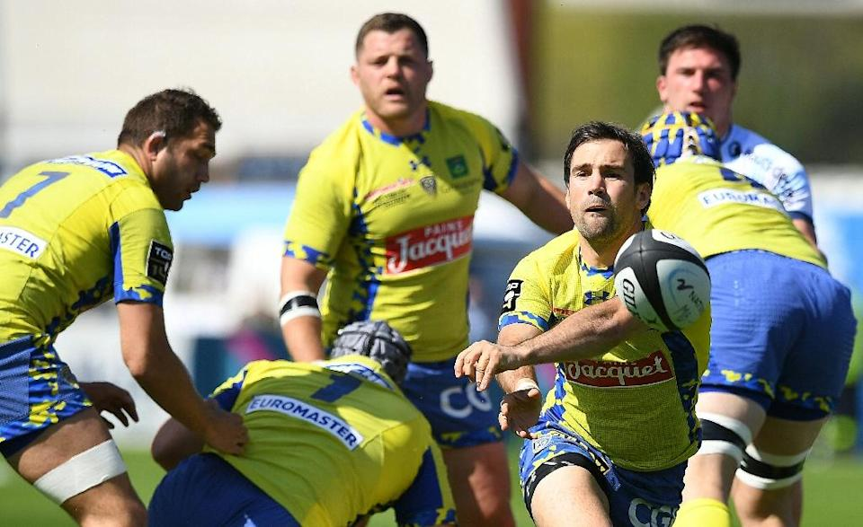 Clermont lead with 75 points from 22 games, with four matches left in the regular season (AFP Photo/Franck Fife)