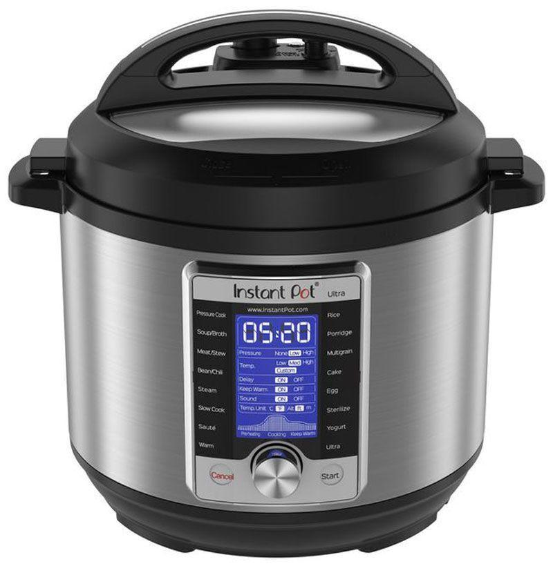 """<p><strong>Instant Pot</strong></p><p>amazon.com</p><p><strong>$139.99</strong></p><p><a href=""""https://www.amazon.com/dp/B06Y1MP2PY?tag=syn-yahoo-20&ascsubtag=%5Bartid%7C10054.g.18726497%5Bsrc%7Cyahoo-us"""" rel=""""nofollow noopener"""" target=""""_blank"""" data-ylk=""""slk:Buy"""" class=""""link rapid-noclick-resp"""">Buy</a></p><p>The Instant Pot whips out quick meals, from hard-boiled eggs to chili to a whole roasted chicken, so mom doesn't have to squeeze kitchen time into her schedule.</p>"""
