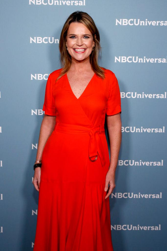 Savannah Guthrie suffered an eye injury while playing with her son. (Photo by: Heidi Gutman/NBCUniversal/NBCU Photo Bank)