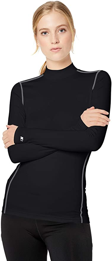 "https://amzn.to/3iTyq43<br><br><strong>Starter</strong> Compression Mockneck Top, $, available at <a href=""https://amzn.to/3iTyq43"" rel=""nofollow noopener"" target=""_blank"" data-ylk=""slk:Amazon"" class=""link rapid-noclick-resp"">Amazon</a>"